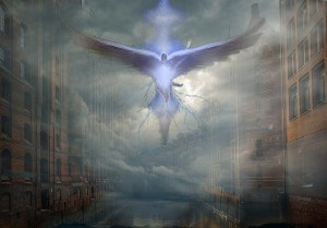 神々しい天使