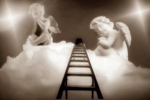 天使が住む天界に続くレール