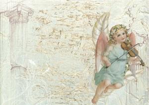 バイオリンを奏でる天使